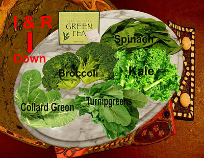 Foods That Drive I R Down Original by Tristan Armstrong