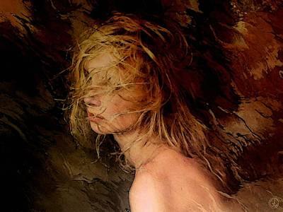 Windy Digital Art - Fooled By The Wind by Gun Legler