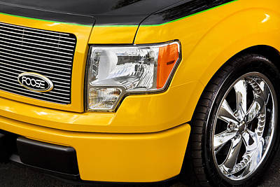 Chip Foose Photograph - Foose Ford Truck by Rich Franco