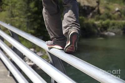Foot Bridge Original by Graham Foulkes