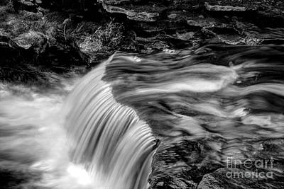 Photograph - Foot High Falls by Paul W Faust -  Impressions of Light