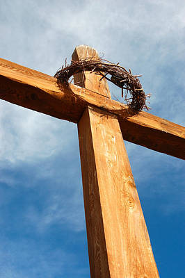 Janet Smith Photograph - Foot Of The Cross by Janet Smith
