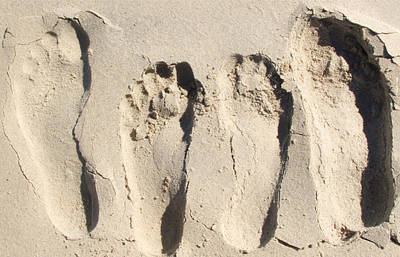 Photograph - Foot Prints by Amanda Mitchell