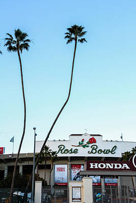 Photograph - Football And Palm Trees by Robert Hebert