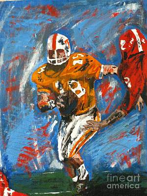 Painting - Football  by Michael Anthony Edwards