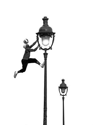 Photograph - Football Stunt by Chevy Fleet