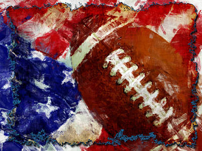 Football Royalty-Free and Rights-Managed Images - Football USA by David G Paul