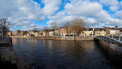 County Cork Photograph - Footbridge Across A River, Millenium by Panoramic Images