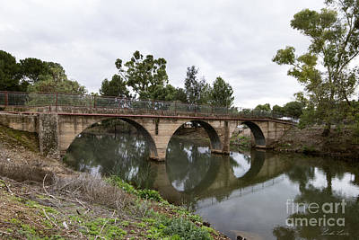 Photograph - Footbridge Across The Burra Creek by Linda Lees