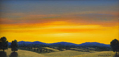 Painting - Foothills Sunrise by Frank Wilson