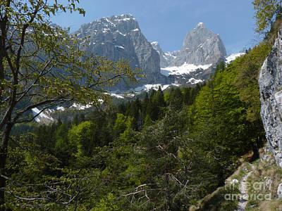 Photograph - Footpath To Passo Di Ceda  by Phil Banks
