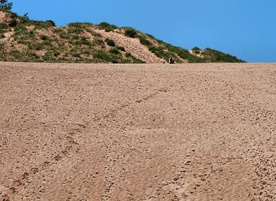 Photograph - Footprints At Sleeping Bear Dunes by Dan Sproul