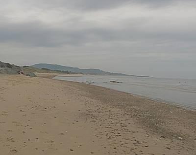 Digital Art - Footprints On The Beach  by Joseph Doyle