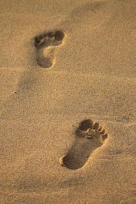 Photograph - Footprints by Pamela Walton