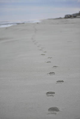Photograph - Footprints by Terry DeLuco