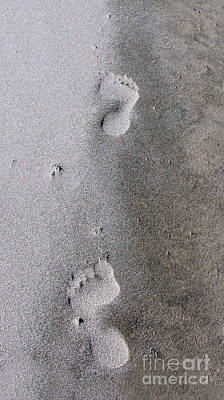 Photograph - Footsteps by Erica Hanel