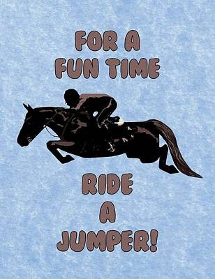 For A Fun Time Art Print