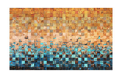 Abstract Art Large Scale Mixed Media - For Carolyn by Adam Colangelo