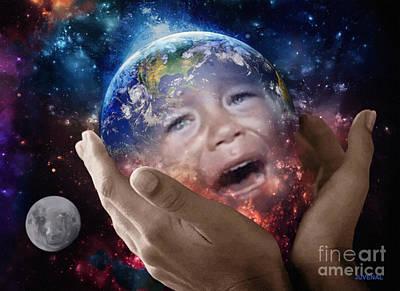 Digital Art - For God So Loved The World by Joseph Juvenal