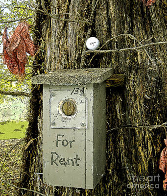 Photograph - For Rent by Lee Owenby