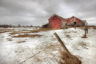 Barn Digital Art - For Sale by Lori Deiter