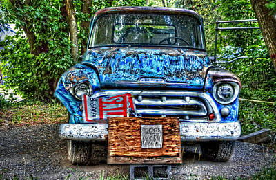 Photograph - For Sale Truck And Eggs by Ken Smith