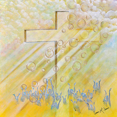 Painting - For The Cross by Cassie Sears