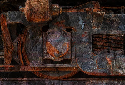 Presence Digital Art - For The Love Of Rust 2 by Jack Zulli