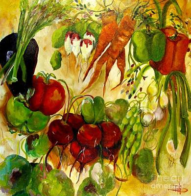 For The Love Of Vegetables Original by Delilah  Smith