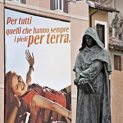 Giordano Bruno Photograph - For Those That Have Their Feet On The Ground by Sonny Marcyan