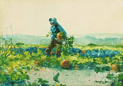 Painting - For To Be A Farmers Boy by Roberto Prusso