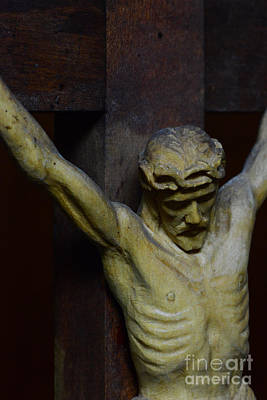 Redeemer Photograph - For Your Sins by Paul Ward