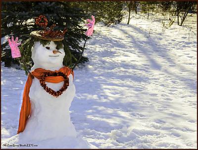 Fathers Photograph - For Your Winter Love by LeeAnn McLaneGoetz McLaneGoetzStudioLLCcom