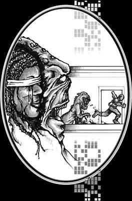 For Zanna - Illustration Art Print by Matt Edginton