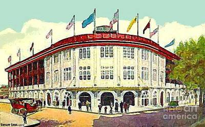 Forbes Field In Pittsburgh Pa C.1910 Art Print
