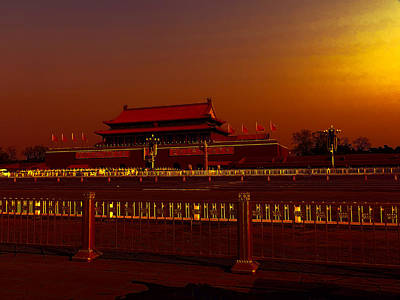 Cafeart Digital Art - Forbidden City by Cathy Anderson