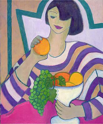 Stealing Painting - Forbidden Fruit, 2003-04 by Jeanette Lassen