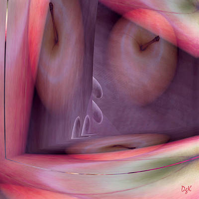 Digital Art - Forbidden No. 2 by Dolores Kaufman
