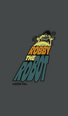 1950s Movies Digital Art - Forbidden Planet - Robby The Robot by Brand A