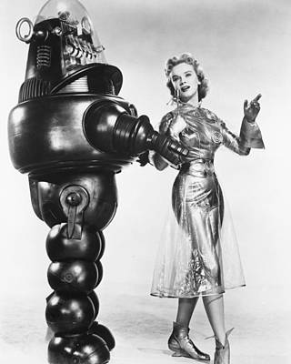 1950 Movies Photograph - Forbidden Planet  by Silver Screen