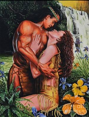 Embrace Painting - Forbidden Romance by James Loveless