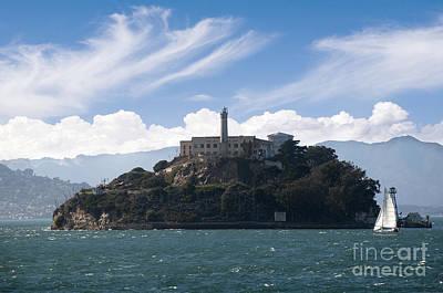 Photograph - Forbidding Alcatraz by Brenda Kean