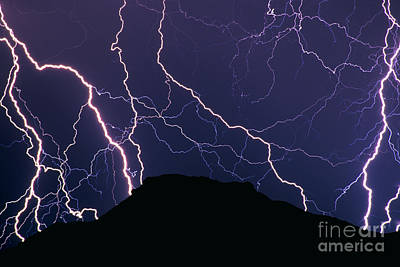 Lightnings Of Arizona Photograph - Forces Of Nature by Russ Bishop