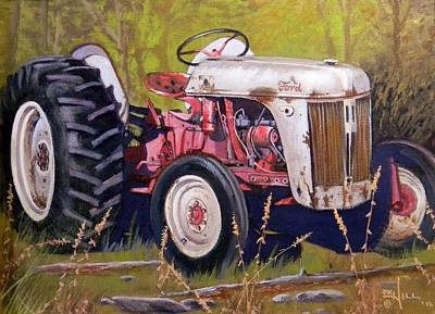 Painting - Ford 8n by Paul K Hill