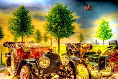 Photograph - Ford And Cadillac by Paul W Faust -  Impressions of Light