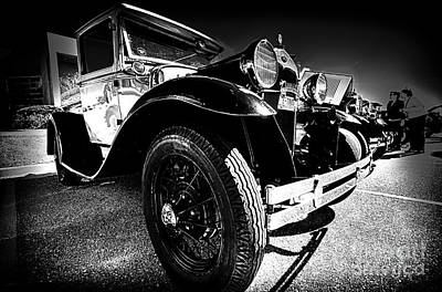 Photograph - Ford Antique Cars by Danny Hooks