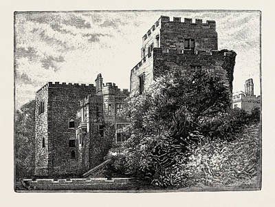 Ford Castle, Situated At A Shallow Crossing Point Art Print