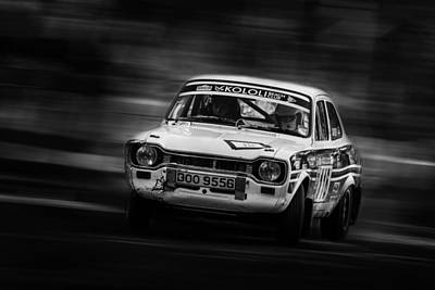 Photograph - Ford Escort Mk1 Rally by Ken Brannen