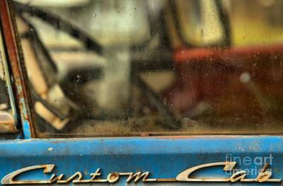 Photograph - Ford F-600 Fading Away by Adam Jewell