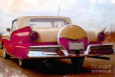 Painting - Ford Fairlane 500     by Liane Wright